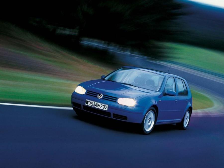 Volkswagen Golf хетчбэк 5-дв., 1997–2006, 4 поколение - отзывы, фото и характеристики на Car.ru