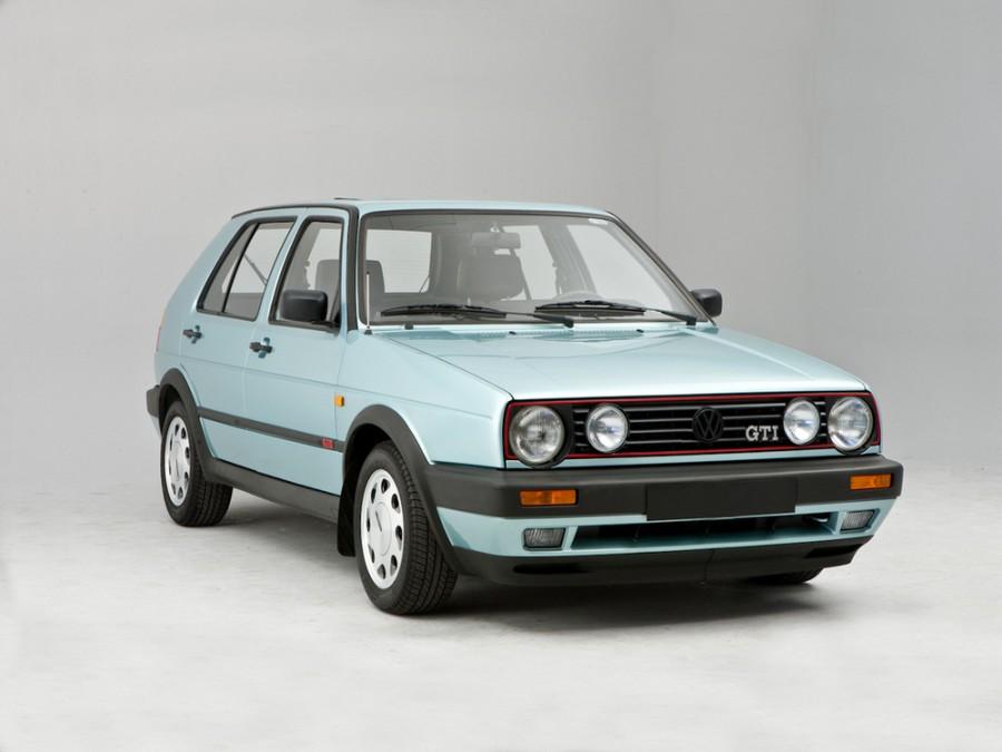 Volkswagen Golf GTI хетчбэк 5-дв., 1983–1992, 2 поколение - отзывы, фото и характеристики на Car.ru