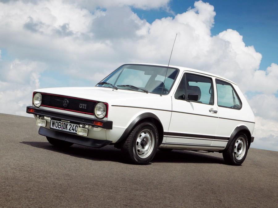 Volkswagen Golf GTI хетчбэк 3-дв., 1974–1993, 1 поколение - отзывы, фото и характеристики на Car.ru