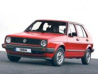 Volkswagen Golf, 2 поколение, Хетчбэк 5-дв., 1983–1992