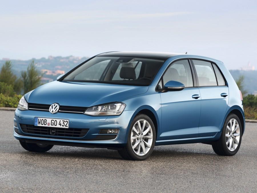 Volkswagen Golf хетчбэк 5-дв., 2012–2016, 7 поколение - отзывы, фото и характеристики на Car.ru