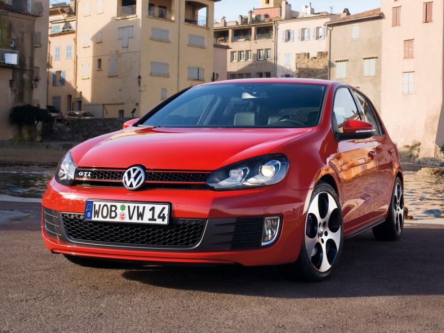 Volkswagen Golf GTI хетчбэк 5-дв., 2009–2014, 6 поколение - отзывы, фото и характеристики на Car.ru