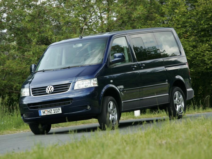 Volkswagen Multivan микроавтобус 5-дв., 2003–2016, T5 - отзывы, фото и характеристики на Car.ru