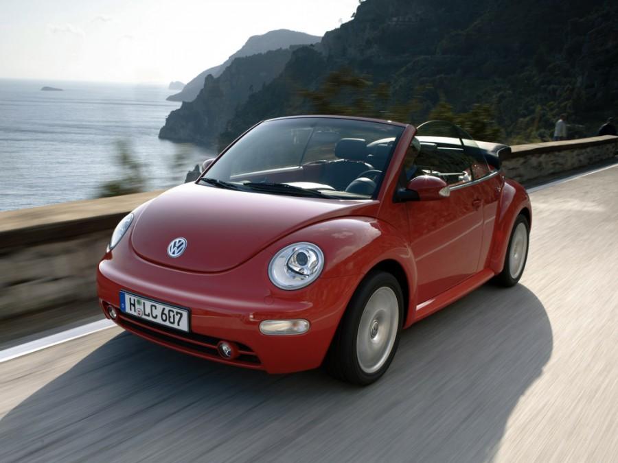 Volkswagen New Beetle кабриолет 2-дв., 1998–2005, 1 поколение - отзывы, фото и характеристики на Car.ru