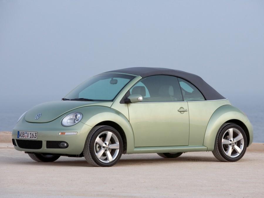 Volkswagen New Beetle кабриолет, 2005–2010, 1 поколение [рестайлинг] - отзывы, фото и характеристики на Car.ru
