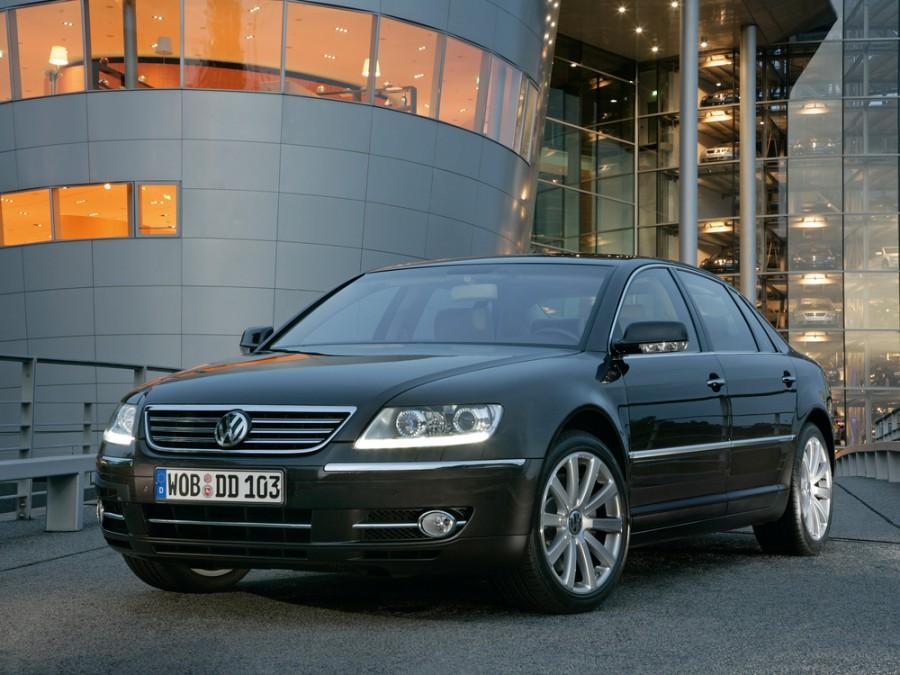 Volkswagen Phaeton седан, 2007–2010, 1 поколение [рестайлинг] - отзывы, фото и характеристики на Car.ru