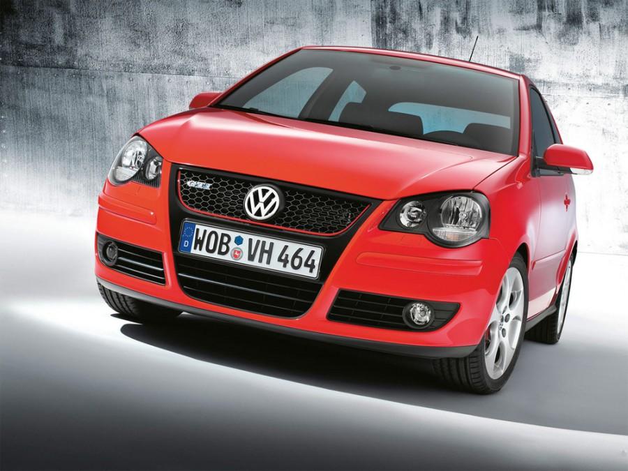 Volkswagen Polo GTI хетчбэк 3-дв., 2005–2009, 4 поколение [рестайлинг] - отзывы, фото и характеристики на Car.ru