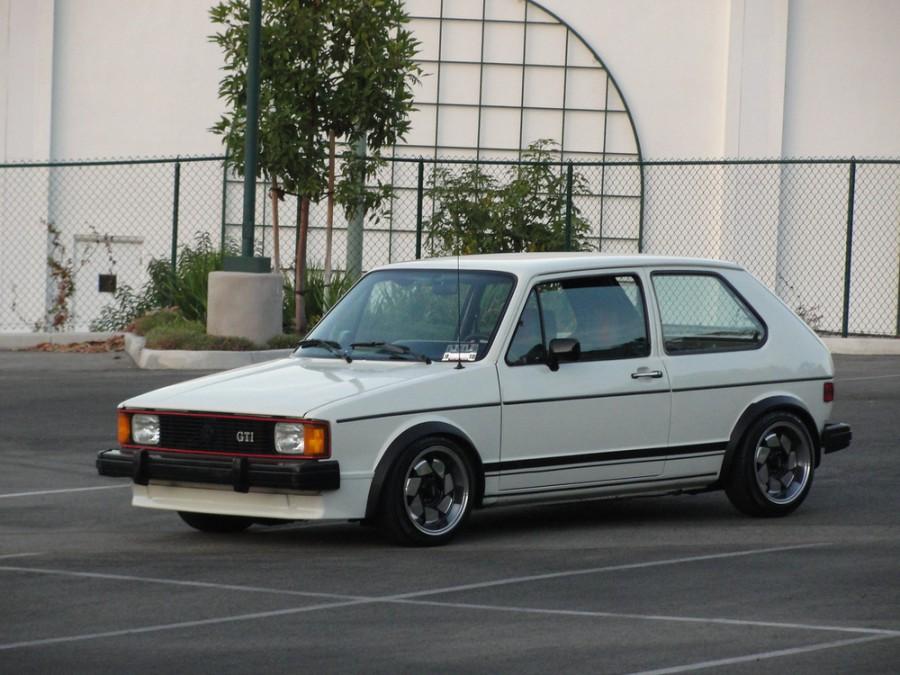 Volkswagen Rabbit GTI хетчбэк 3-дв., 1979–1985, 1 поколение [рестайлинг] - отзывы, фото и характеристики на Car.ru