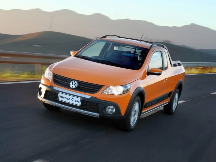 Volkswagen Saveiro Cross пикап 2-дв., 2009–2016, 5 поколение - отзывы, фото и характеристики на Car.ru