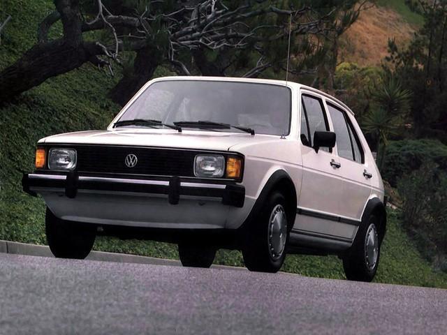 Volkswagen Rabbit хетчбэк 5-дв., 1979–1985, 1 поколение [рестайлинг] - отзывы, фото и характеристики на Car.ru