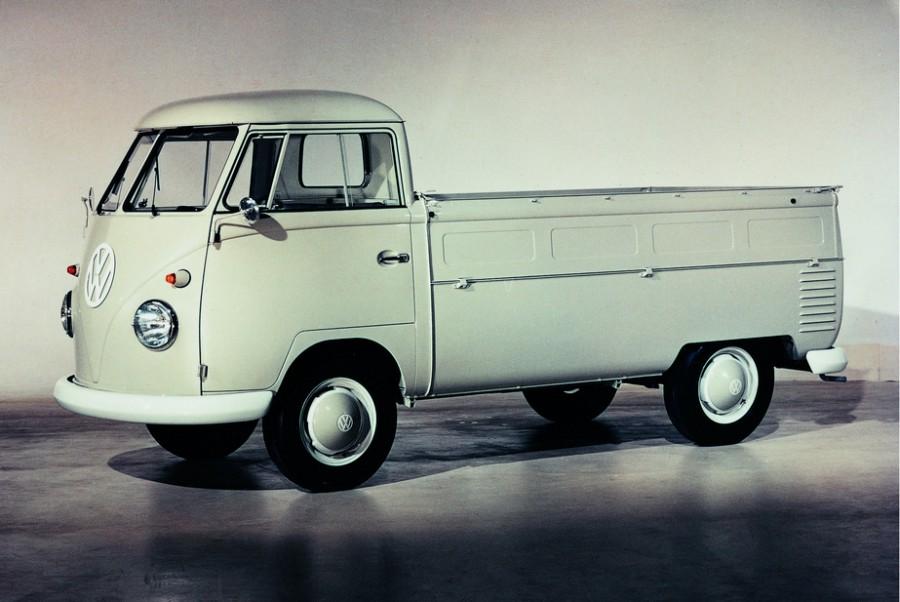 Volkswagen Transporter Single Cab пикап 2-дв., 1950–1967, T1 - отзывы, фото и характеристики на Car.ru