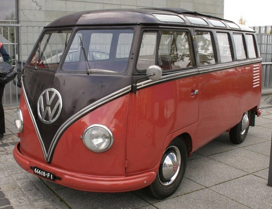 Volkswagen Transporter микроавтобус 3-дв., 1950–1967, T1 - отзывы, фото и характеристики на Car.ru