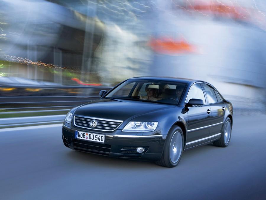 Volkswagen Phaeton седан, 2002–2007, 1 поколение - отзывы, фото и характеристики на Car.ru