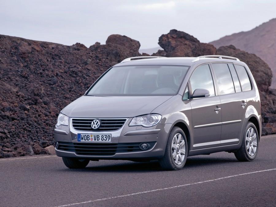 Volkswagen Touran минивэн 5-дв., 2006–2010, 2 поколение - отзывы, фото и характеристики на Car.ru