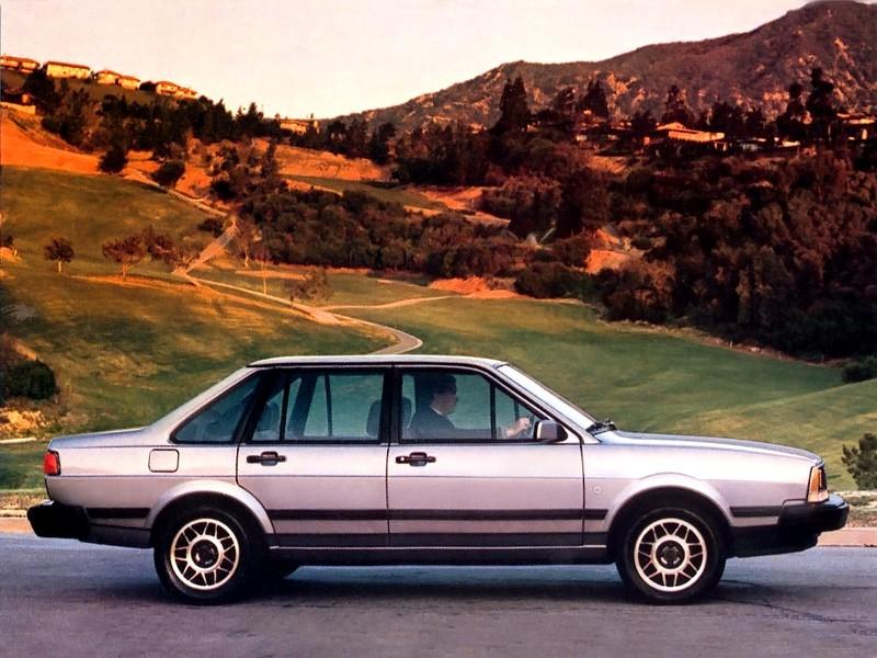 Volkswagen Quantum седан, 1985–1988, 1 поколение - отзывы, фото и характеристики на Car.ru