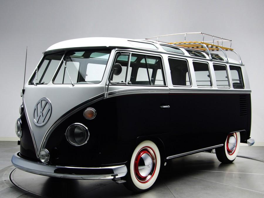 Volkswagen Transporter Samba микроавтобус 3-дв., 1963–1967, T1 [рестайлинг] - отзывы, фото и характеристики на Car.ru