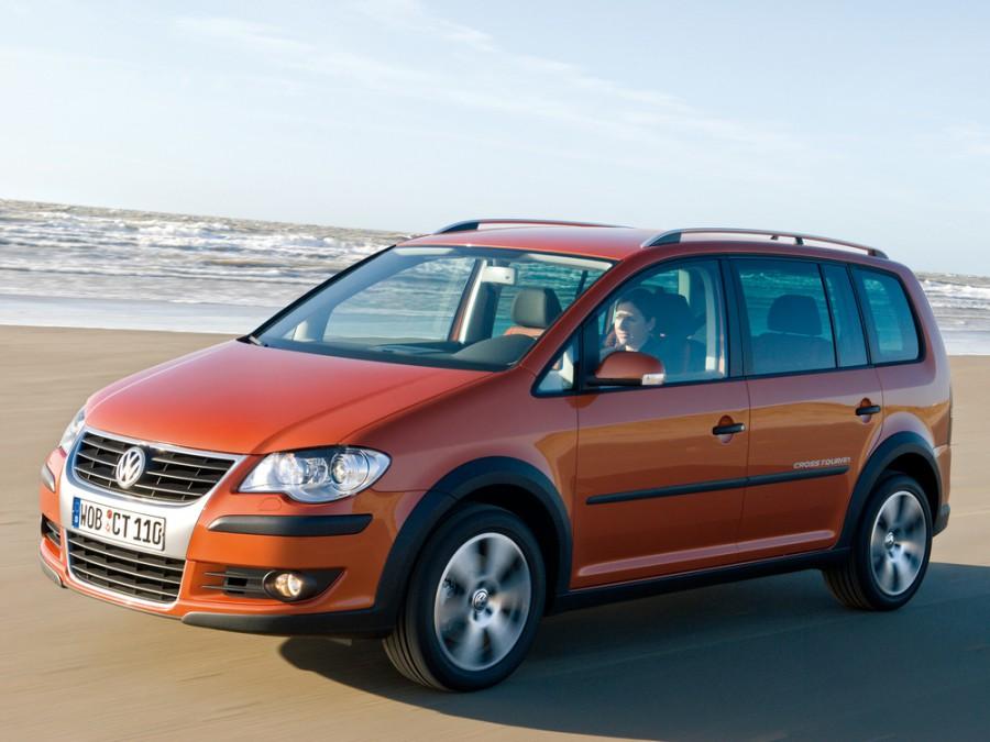 Volkswagen Touran Cross минивэн 5-дв., 2006–2010, 2 поколение - отзывы, фото и характеристики на Car.ru