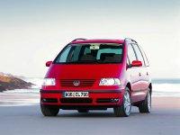 Volkswagen Sharan, 1 поколение [рестайлинг], Минивэн, 2000–2003