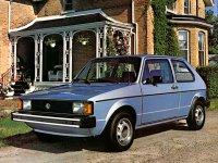 Volkswagen Rabbit, 1 поколение [рестайлинг], Хетчбэк 3-дв., 1979–1985