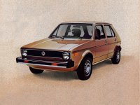 Volkswagen Rabbit, 1 поколение, Хетчбэк 5-дв., 1975–1985