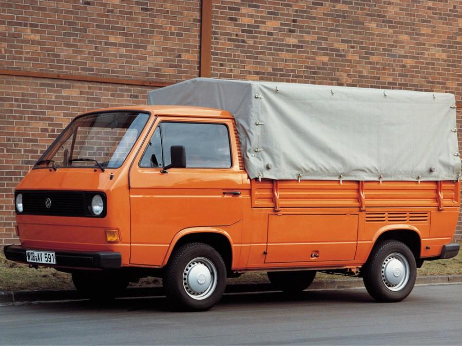 Volkswagen Transporter Single Cab пикап, 1979–1982, T3 - отзывы, фото и характеристики на Car.ru