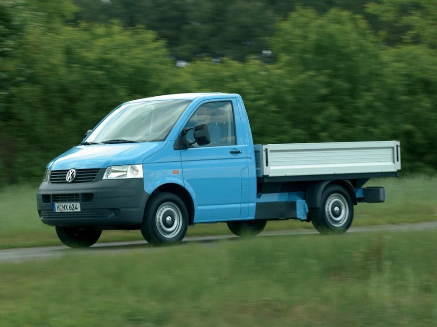 Volkswagen Transporter Single Cab пикап 2-дв., 2003–2009, T5 - отзывы, фото и характеристики на Car.ru