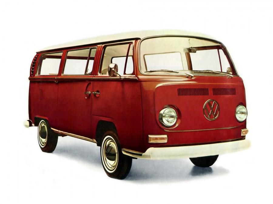 Volkswagen Transporter микроавтобус, 1967–1970, Т2 - отзывы, фото и характеристики на Car.ru