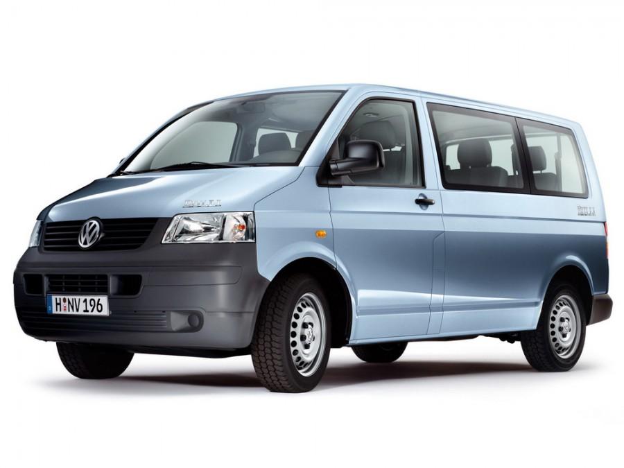 Volkswagen Transporter микроавтобус, 2003–2009, T5 - отзывы, фото и характеристики на Car.ru