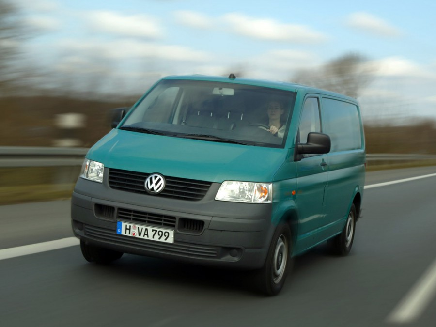 Volkswagen Transporter Kasten фургон 4-дв., 2003–2009, T5 - отзывы, фото и характеристики на Car.ru