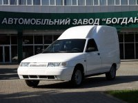 Богдан 2310, 1 поколение, Фургон, 2010–2014