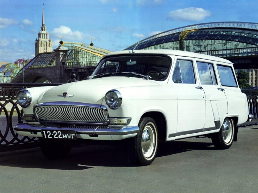Газ Volga 21 универсал, 1962–1970, Третья серия - отзывы, фото и характеристики на Car.ru