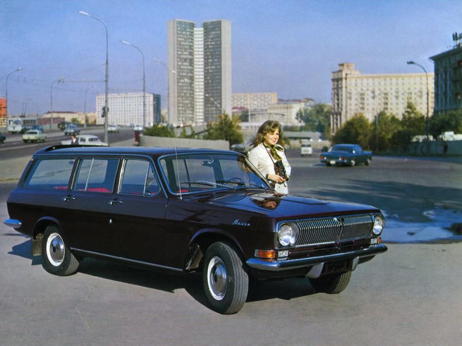 Газ Volga 24 универсал, 1968–1986, Первая серия - отзывы, фото и характеристики на Car.ru