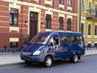 Газ Газель, 1 поколение [рестайлинг], 3221 микроавтобус 4-дв., 2003–2010