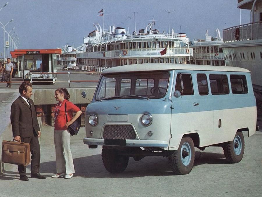 Уаз 452 452В микроавтобус 4-дв., 1965–1985, 1 поколение - отзывы, фото и характеристики на Car.ru