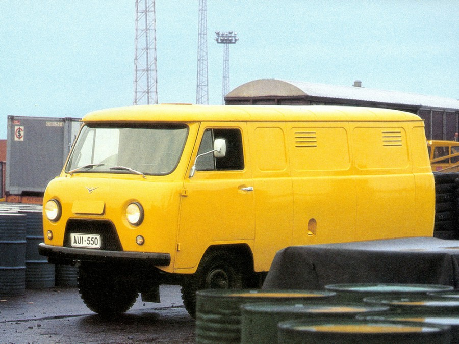 Уаз 452 452 фургон, 1965–1985, 1 поколение - отзывы, фото и характеристики на Car.ru