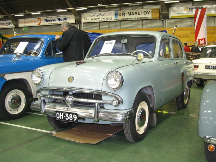 Москвич 402 седан, 1956–1958, 1 поколение - отзывы, фото и характеристики на Car.ru