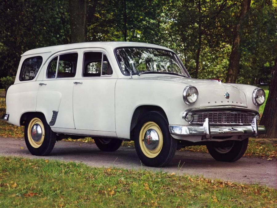 Москвич 423 универсал, 1959–2000, 1 поколение - отзывы, фото и характеристики на Car.ru