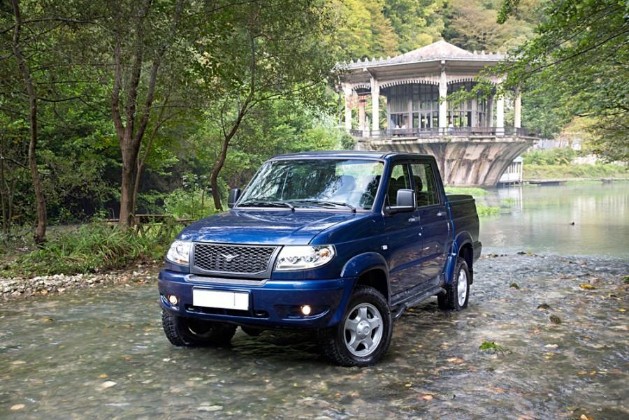 Уаз Pickup пикап, 2012–2014, 1 поколение [рестайлинг] - отзывы, фото и характеристики на Car.ru