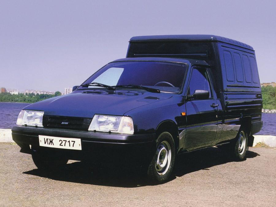 Иж 2717 фургон, 1997–2005, 1 поколение - отзывы, фото и характеристики на Car.ru