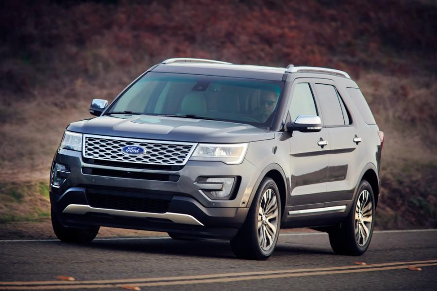 Ford Explorer внедорожник, 2015–2016, 5 поколение [рестайлинг] - отзывы, фото и характеристики на Car.ru