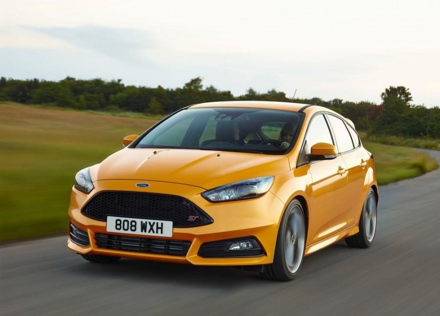 Ford Focus ST хетчбэк 5-дв., 2014–2016, 3 поколение [рестайлинг] - отзывы, фото и характеристики на Car.ru