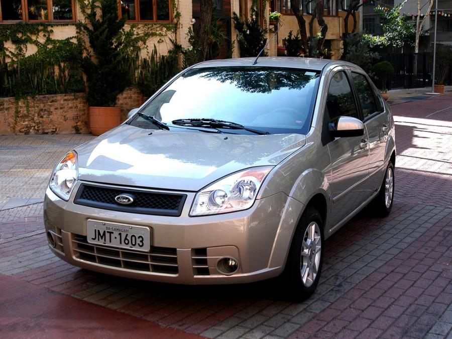 Ford Fiesta BR седан 4-дв., 2005–2010, 5 поколение [рестайлинг] - отзывы, фото и характеристики на Car.ru
