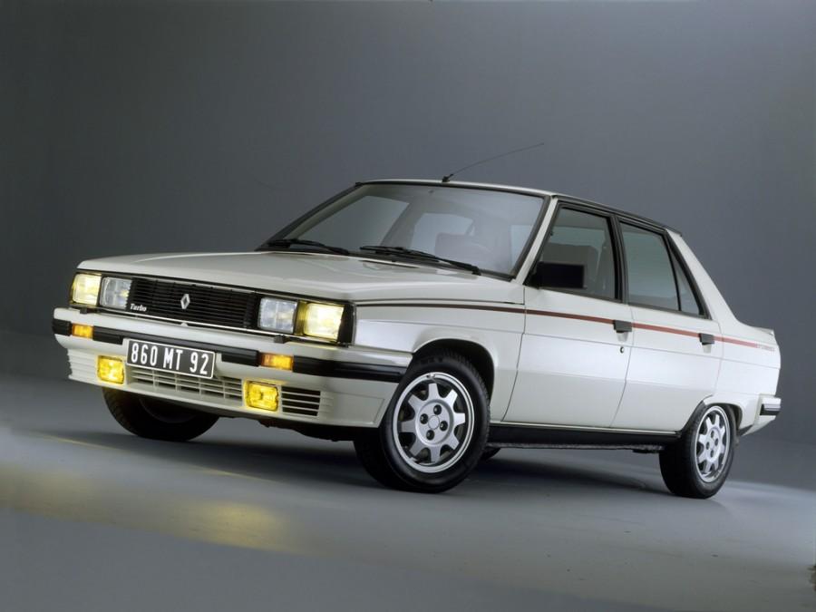 Renault 9 Turbo седан 4-дв., 1981–1986, 1 поколение - отзывы, фото и характеристики на Car.ru