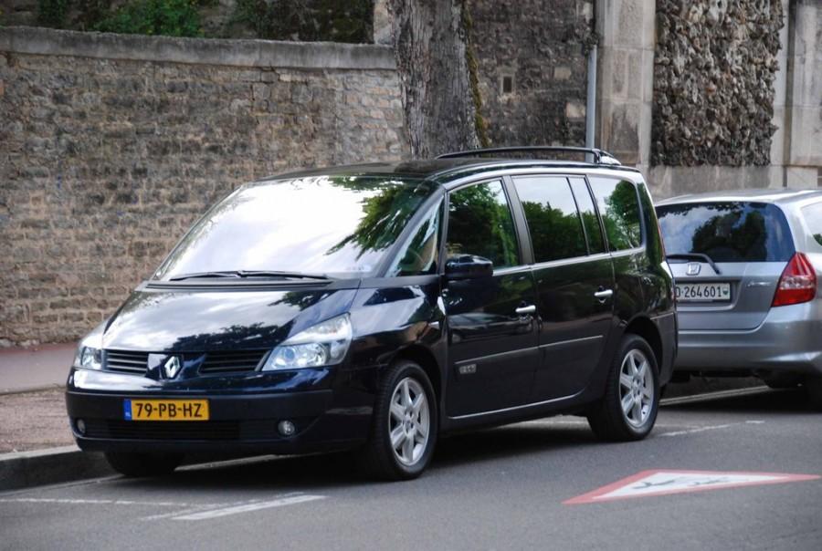 Renault Espace Grand минивэн 5-дв., 2002–2006, 4 поколение - отзывы, фото и характеристики на Car.ru