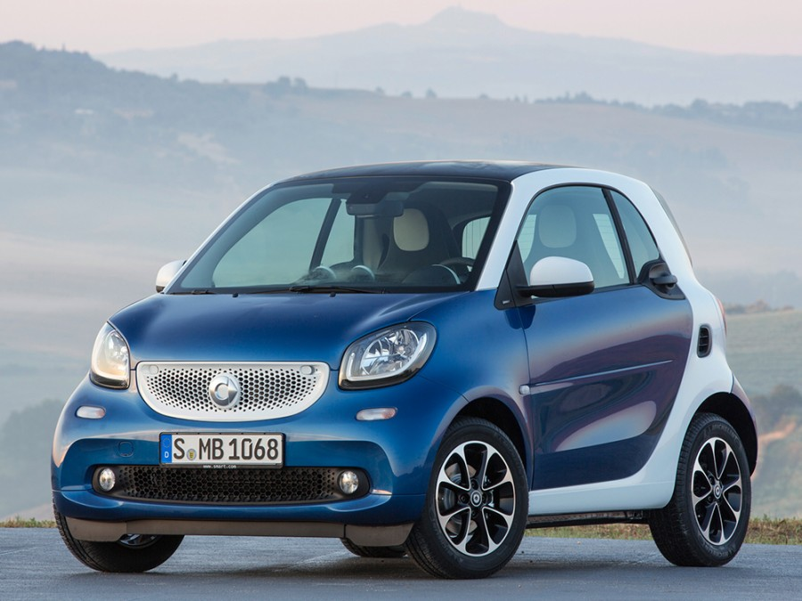 Smart Fortwo хетчбэк, 2015–2016, 3 поколение - отзывы, фото и характеристики на Car.ru