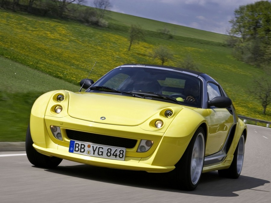 Smart Roadster Brabus тарга 2-дв., 2003–2006, 1 поколение - отзывы, фото и характеристики на Car.ru