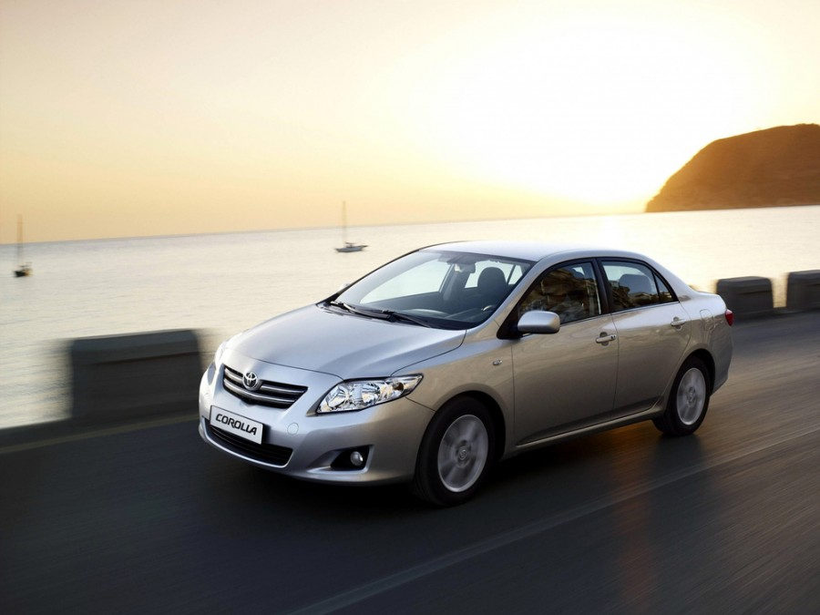 Toyota Corolla седан 4-дв., 2006–2010, E140/150 - отзывы, фото и характеристики на Car.ru