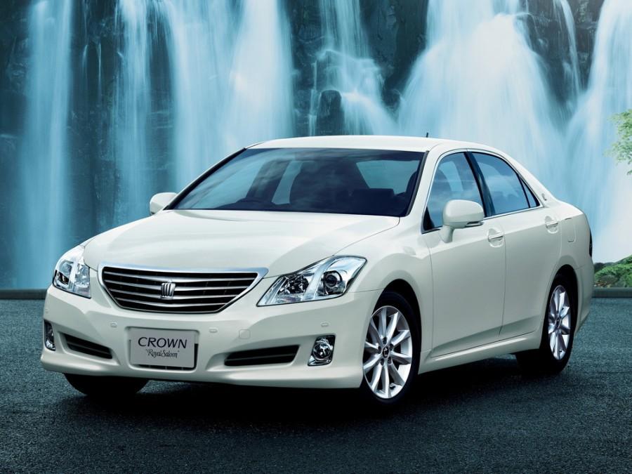 Toyota Crown JDM седан 4-дв., 2008–2012, S200 - отзывы, фото и характеристики на Car.ru