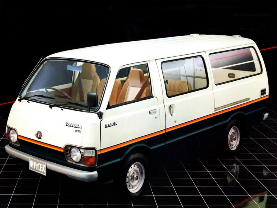 Toyota Hiace Combi микроавтобус 4-дв., H20/H30/H40 - отзывы, фото и характеристики на Car.ru