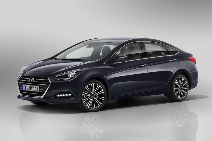 Hyundai i40 седан, 2015–2016, VF [рестайлинг] - отзывы, фото и характеристики на Car.ru